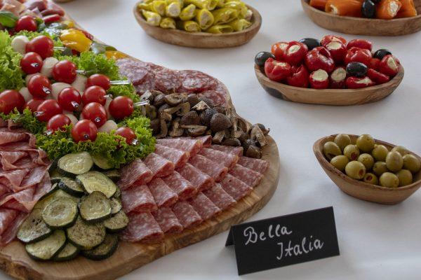 Italienische Wurst-Platte