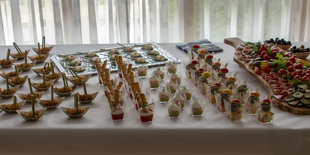 Fingerfood-Auswahl