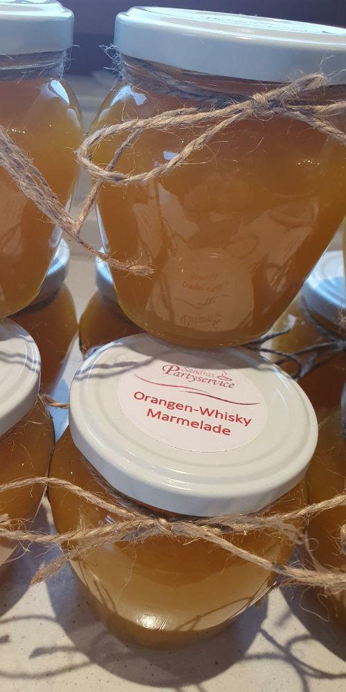 Orangen-Whisky-Marmelade