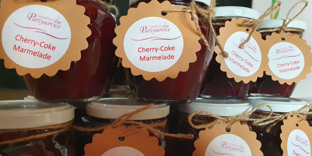 Cherry-Coke-Marmelade